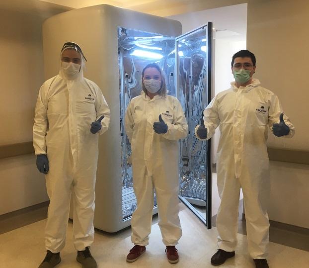 Koronavirüsü 30 Saniye Öldüren Kabin