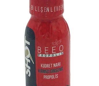BEE'O'dan Yeni Ürün: Kudret Narı Kırmızı Ginseng Propolis Shot