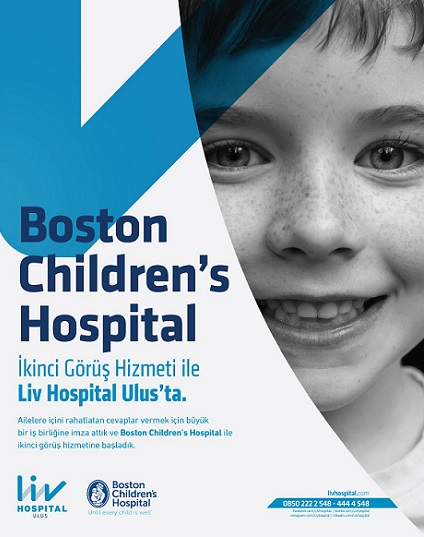 Liv Hospital Ulus ve Boston's Children Hospital'dan İşbirliği