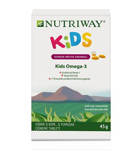 Nutriway'den Çocuklara Özel Omega-3