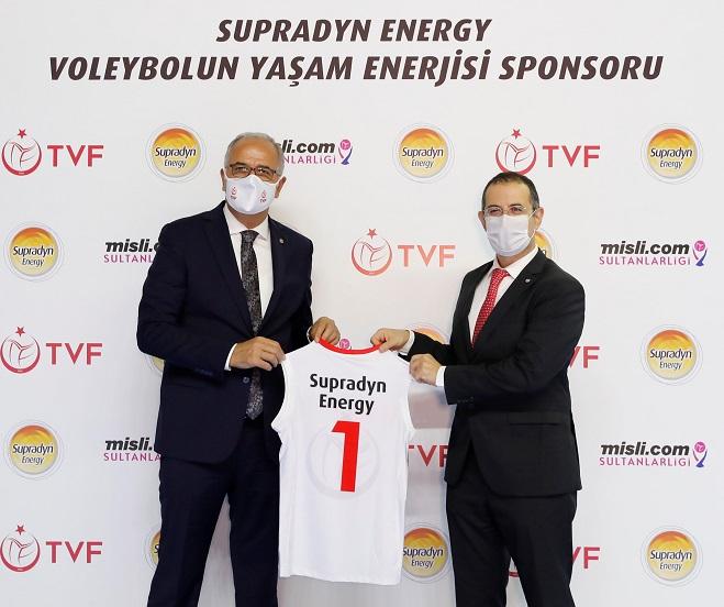 Supradyn Energy, Voleybol'un Yaşam Enerjisi Sponsoru