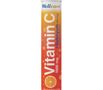 Wellcare'den Bir İlk: Vitamin C+Selenyum