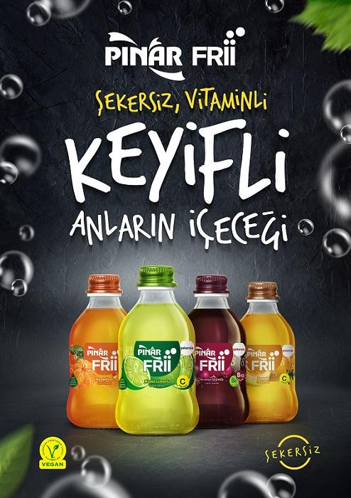 Pınar'dan Yeni Nesil Vegan İçecek: Frii