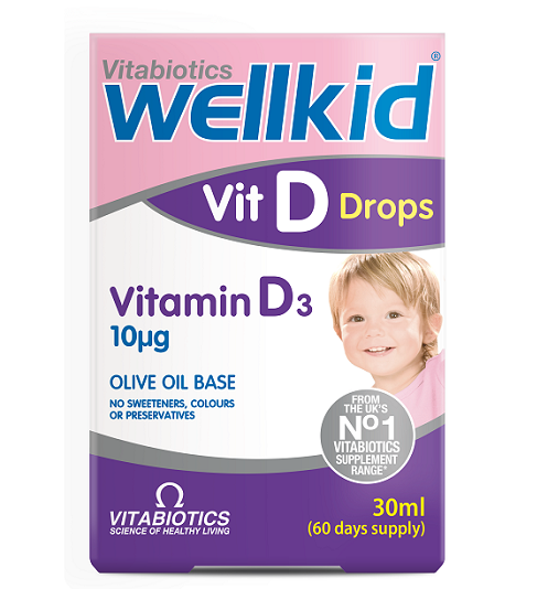 Vitabiotics'ten Çocuklara Özel D Vitamini Desteği