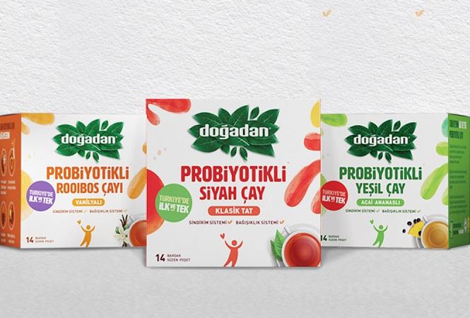 Doğadan'dan Bağışıklığınızı Güçlendirici Probiyotikli Çaylar